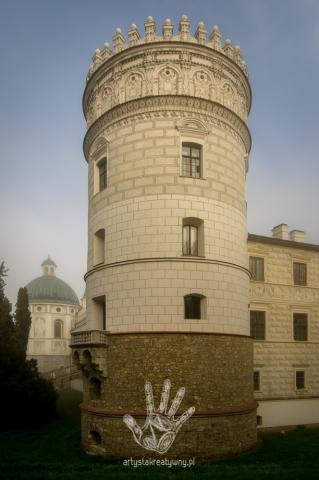 Krasiczyn, polish architecture, architektura, zamek, artystakreatywny.pl, artystakreatywny, Robert Grylak