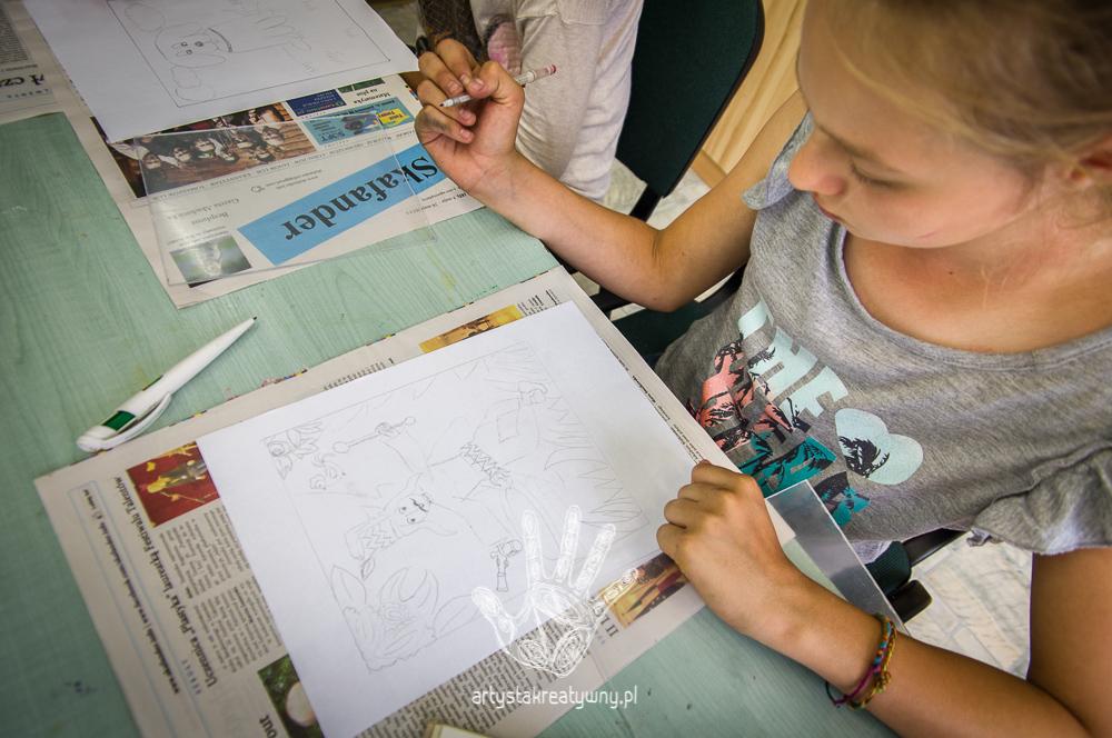 artystakreatywny.pl, warsztaty, malowanie na szkle, malarstwo