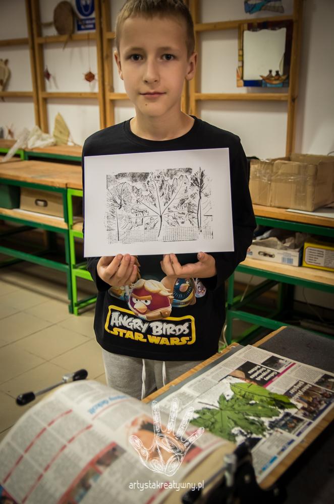 artystakreatywny.pl, warsztaty graficzne, grafika, momotypia, kolografia, druk wypukły, techniki graficzne