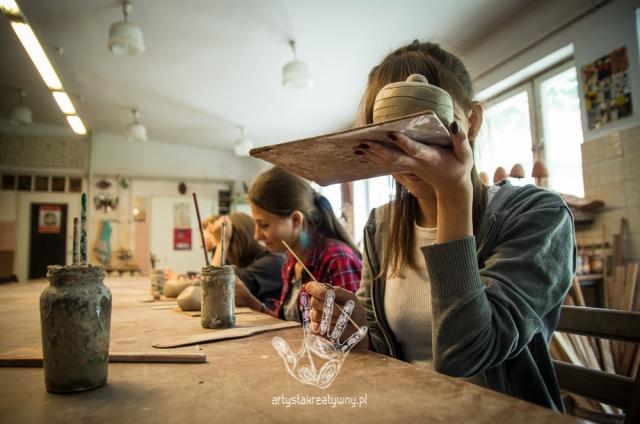 artystakreatywny.pl, warsztaty ceramiczne, ceramika, rękodzieło